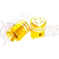 Capac ventil AOS21301 auriu