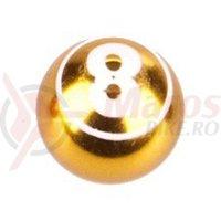 Capac ventil Cox Ball-8 auriu