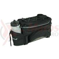 carrier bag Haberland Flexibag S black, 34x18x15cm, 6l