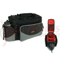 carrier bag Haberland FlexibagTop black/grey, 40x22x24cm, 20ltrs, uni clip
