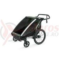 Carucior copii THULE Chariot Lite 1 - charcoal grey