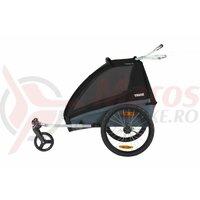 Carucior sport THULE Coaster XT 2 - Aluminum/Black
