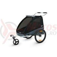 Carucior Thule Coaster 2 + Stroll - black