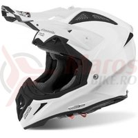 Casca Airoh Aviator 2.2 Color white gloss