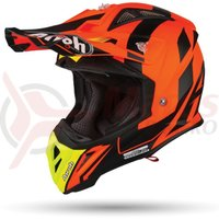 Casca Airoh Aviator 2.3 bigger orange matt