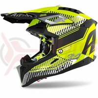 Casca Airoh Aviator 3 Wave Yellow Matt 2021