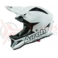 Casca Airoh Fighters Color White Gloss