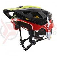 Casca Alpinestars Vector Tech Pilot negru/galben/rosu