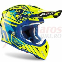 Casca Aviator 2.3 Rep. Cairoli Blue Yellow Gloss