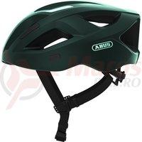 Casca bicicleta Abus Aduro 2.1 smaragd green