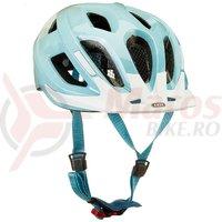 Casca bicicleta Abus Aduro Race albastra