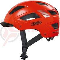 Casca bicicleta Abus Hyban 2.0 Signal orange
