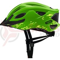Casca bicicleta Abus S-Cension diamond green