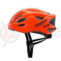 Casca bicicleta Abus S-Cension neon orange