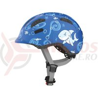 Casca bicicleta Abus Smiley 2.0 Sharky blue