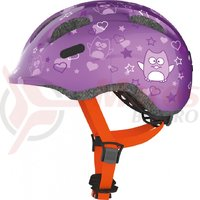 Casca bicicleta Abus Smiley 2.0 Star purple