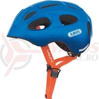 Casca bicicleta Abus Youn-I sparkling blue