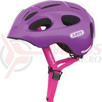 Casca bicicleta Abus Youn-I sparkling purple