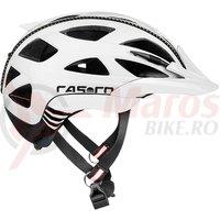 Casca bicicleta Casco Activ 2 alb/negru