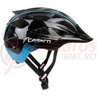 Casca bicicleta Casco Activ 2 negru/albastru
