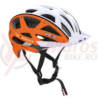 Casca bicicleta Casco Cuda Mountain orange/alb