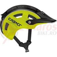 Casca bicicleta Casco MTB.E negru/neon