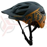 Casca Bicicleta Copii Troy Lee Designs A1 Mips Classic Gray Gold 2020