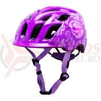 Casca bicicleta Kali Chakra Child Tropical Purple 2020
