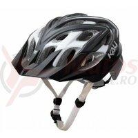 Casca bicicleta Kali Chakra Plus Sonic Mat Gray/White