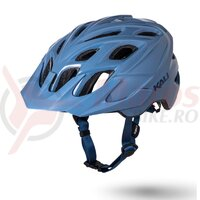 Casca bicicleta Kali Chakra solid thunder blue
