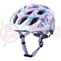 Casca bicicleta Kali Chakra Youth flora gloss purple