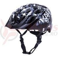 Casca bicicleta Kali Chakra youth pixel gloss black