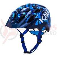 Casca bicicleta Kali Chakra youth pixel gloss blue
