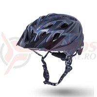 Casca bicicleta Kali Chakra Youth Pyramid Mat Black