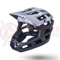 Casca Bicicleta Kali Invader 2.0 Camo Matte Grey / Black 2021