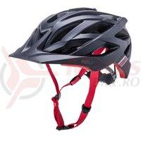 Casca bicicleta Kali Lunati Sync-Matte Black Red 2020