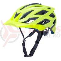 Casca bicicleta Kali Lunati Sync-Matte Fluo Yellow 2020