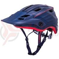 Casca bicicleta Kali Maya 2.0 Matte Navy Red 2020