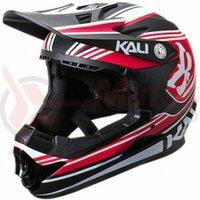 Casca bicicleta Kali Zoka slash red black