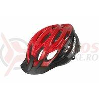 Casca bicicleta LIMAR Scrambler rosu/negru