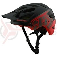 Casca Bicicleta Troy Lee Designs A1 Mips Classic Black/Red 2020