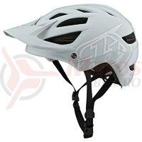 Casca Bicicleta Troy Lee Designs A1 Mips Classic Light Gray/White 2021