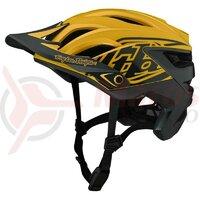 Casca bicicleta Troy Lee Designs A3 Mips Uno Yellow 2021