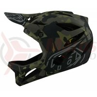 Casca bicicleta Troy Lee Designs stage MIPS camo olive 2021