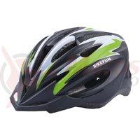 Casca Bike Fun Cobber negru/verde