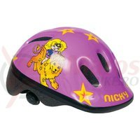 Casca Bikefun Ducky Kid Nicky galbena