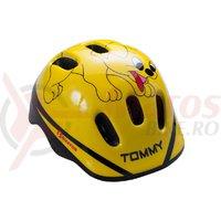 Casca Bikefun Ducky Kid Tommy galbena