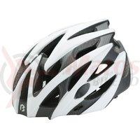 Casca Bikefun Edge alb/carbon