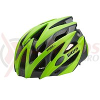 Casca BikeFun Edge verde/carbon