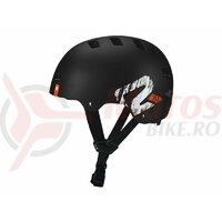 Casca BMX P2R DAPP Negru Matt